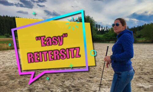 """""""EASY"""" Reitersitz – WORKSHOP"""